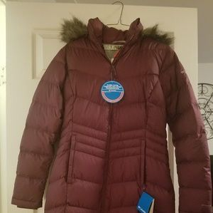 Columbia winter coat mid-length size med